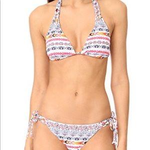 Shoshanna NWOT Multi string bikini